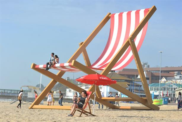 The Pimm's deckchair