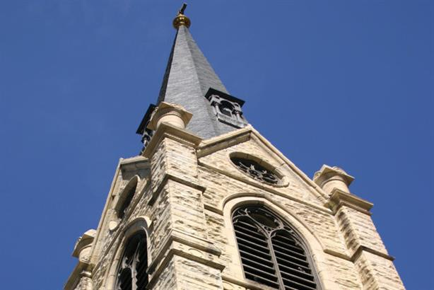 Churches were encouraged to fit alarms