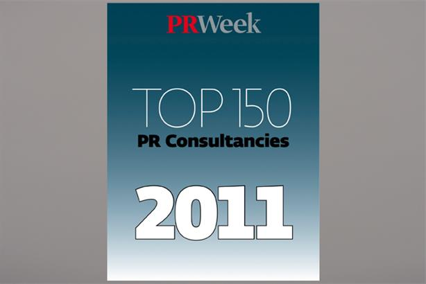 Top 150: the industry's definitive guide to the UK's top PR firms