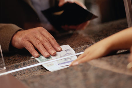 Cashing out: Banks are distancing themselves from money transfer (Credit: Thinkstock)