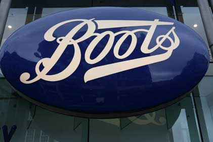 Boots: launching £1m PR brief