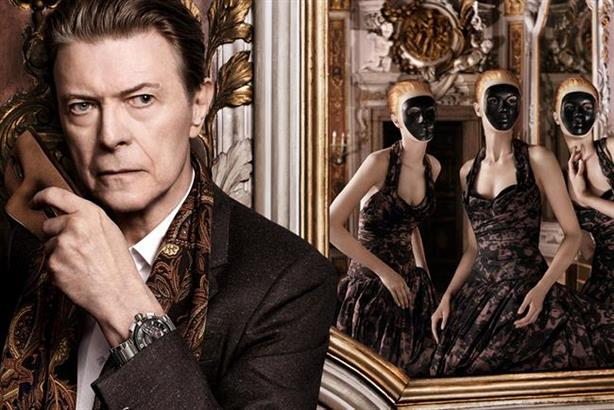 David Bowie: in the 2013 Louis Vuitton campaign