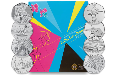 Collectables: The Mint released coins for the Jubilee and Olympics