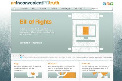New campaign: countering PR spam
