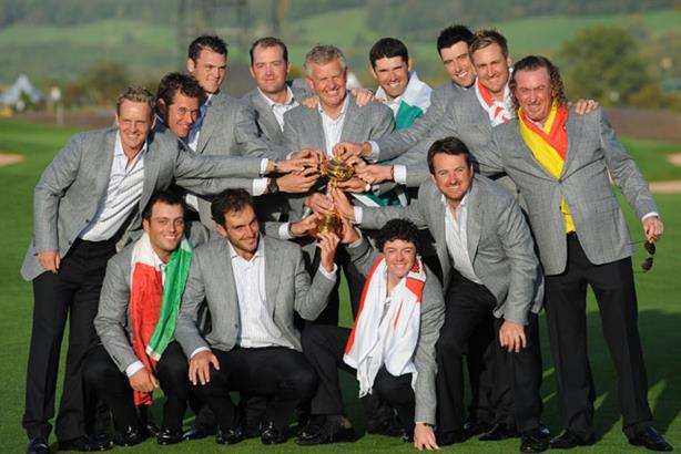 Historic: The Ryder Cup (Rex Features)