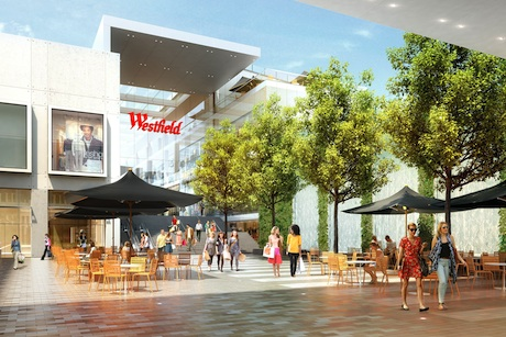 Westfield Croydon: mock-up of proposed development