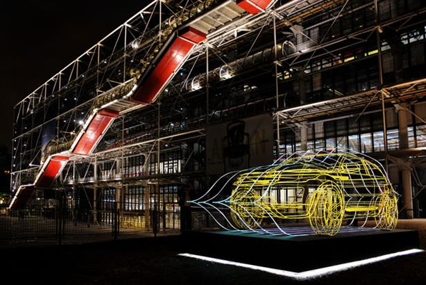 High wire: Wireframe Evoque sculptures popped up in cities globally