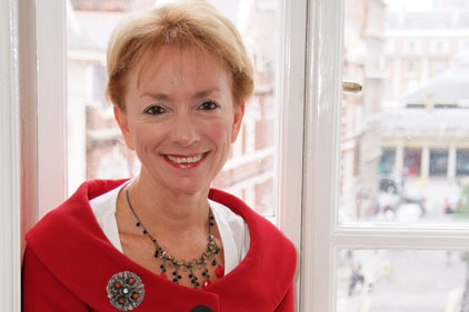 Lobby task: CMI chief executive Ruth Spellman