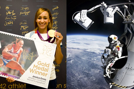 Top campaigns: Royal Mail and Red Bull Stratos (Credit: Red Bull content pool and Royal Mail/George Powell)
