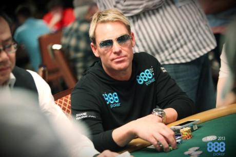 Shane Warne: 888poker celebrity ambassador