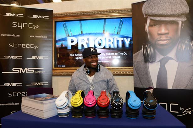 Product launches: O2's range of branded headphones developed with rapper 50 Cent