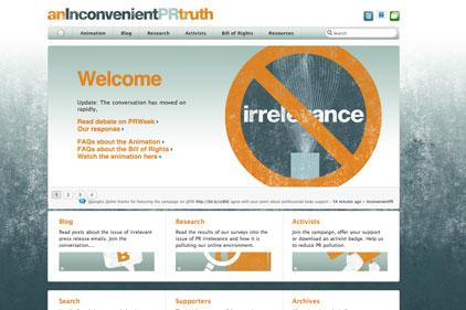 Anti-spam campaign: An Inconvenient PR Truth