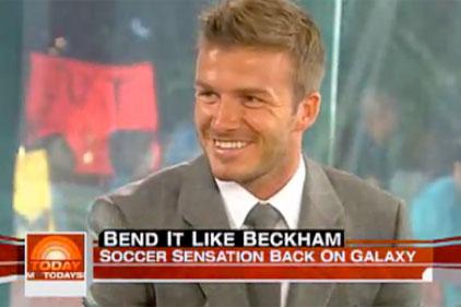 David Beckham: Today Show