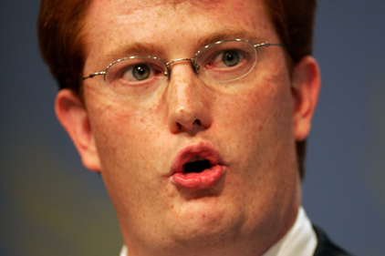 Frugal: Danny Alexander called for a seismic shift in spending