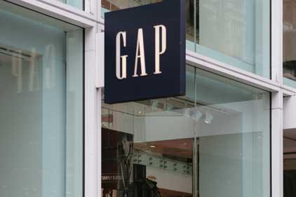 Criticised: retail giant Gap