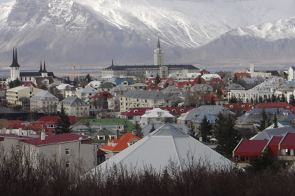 Reykjavik, Iceland's capital and economic hub