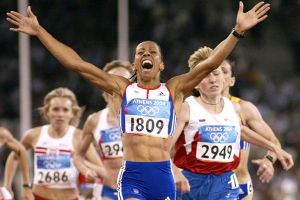 High profile: Olympic gold medallist Kelly Holmes backs the WSFF