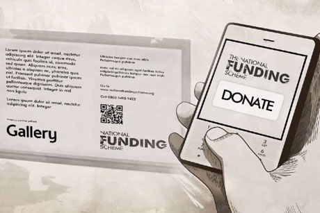 National Funding Scheme: Encgouraging mobile donations
