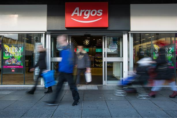 Argos: Seeking retained consumer PR agency