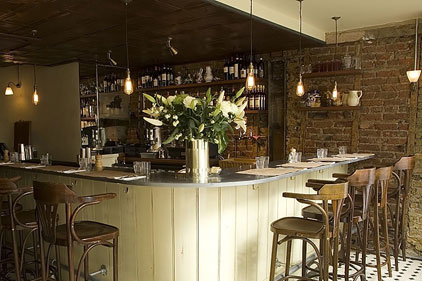 Lively setting: Polpo restaurant