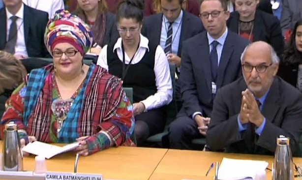 "Select committee hearing: ""My concern is not PR,"" said Yentob (right)"