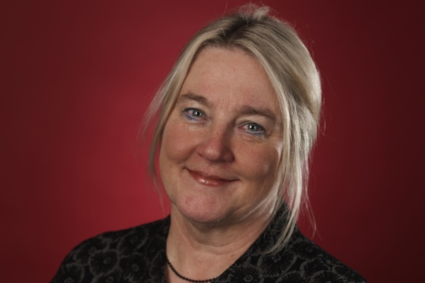 Betty McBride: is leaving the British Heart Foundation on 16 May