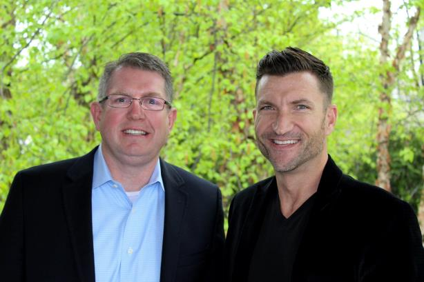Jeff Persinger (left) and Daniel Egeland (right), BioPharma Communications' cofounders