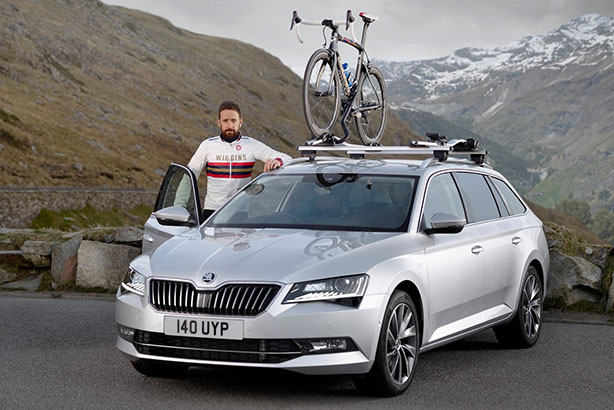 Sir Bradley Wiggins is at the heart of Skoda's new comms strategy