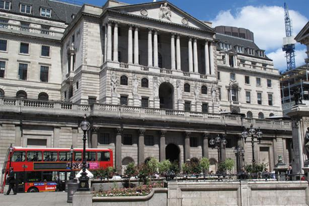 Diversity: The Bank of England has suspended a three-month project