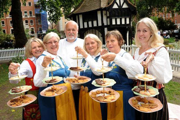 Teatime: campaign to promote Sweden as a new culinary nation of Europe