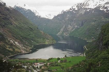 Norway: in green PR drive