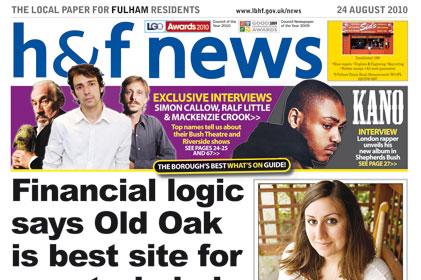 Local Council publications: H&F news
