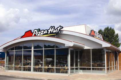 Pizza Hut: being squeezed by firms such as Domino's