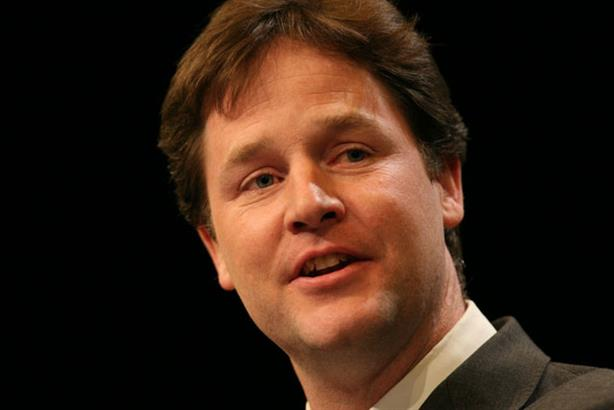Nick Clegg: hit by the loss of his director of strategy