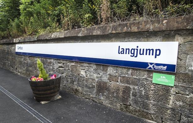 ScotRail: celebrating Commonwealth Games by changing station names