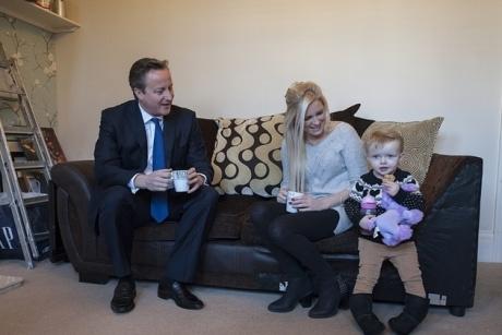 Help-to-buy: Cameron's photoshoot