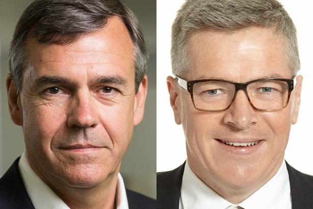 Partnership: Charles Lewington (left) and Rory Godson (right)