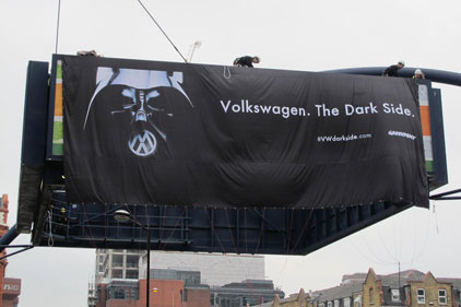 Greenpeace: campaign against Volkswagen
