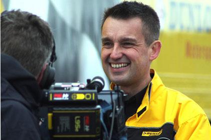 Goodyear Dunlop's EMEA brand PR director: James Bailey