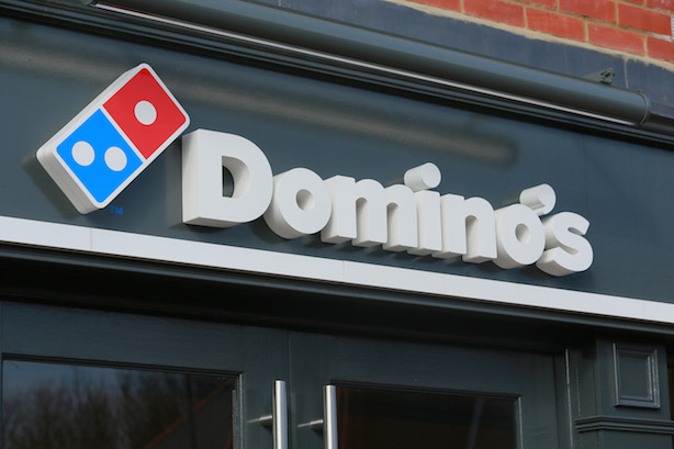 Domino's: The pizza group has appointed Shine @ The Academy for UK work