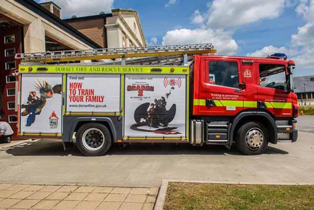 Fire safety: The Department for Communities and Local Government partners up with Dreamworks