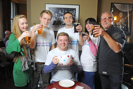 Not here for the beer: Cancer Research UK received £4m after 35,000 people took part in its Dryathlon challenge