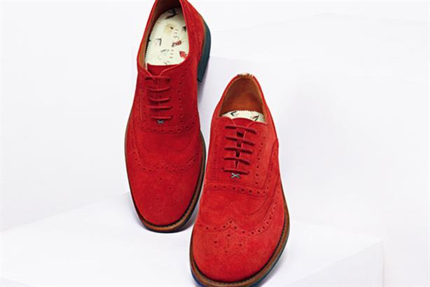 Ted Baker footwear: wants to be seen as a footwear brand in its own right