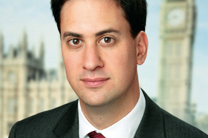 Comms appointments made: Ed Miliband
