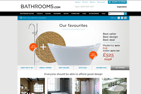 Bathrooms.com: Dynamo handling PR, SEO and social