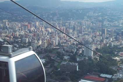 Cableway: Caracas, Venezuela
