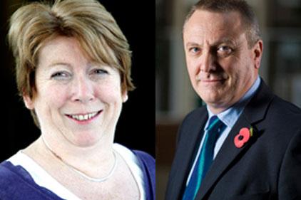 Candidates: Jenifer Stirton and Paul Mylrea