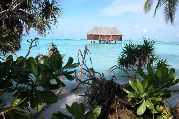 Picturesque: The Maldives relies heavily on tourism