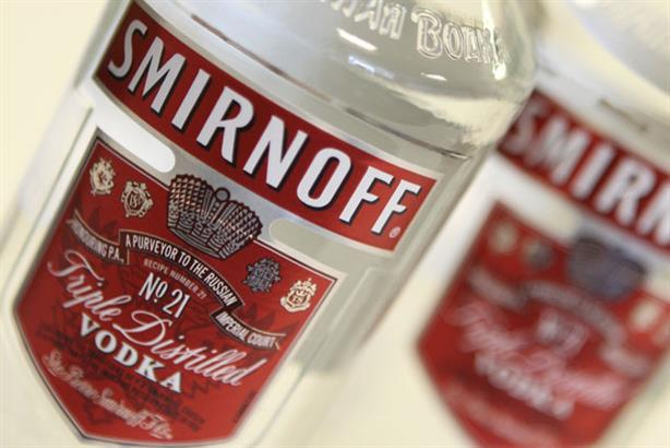 Consumer: Smirnoff account