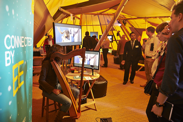 EE: a goverment and community event marked the launch of its 4G service in Cumbria in November 2013